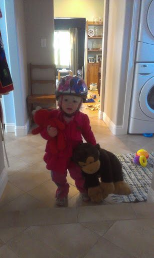 You don't want this little girl to not have a bike lane, do you?
