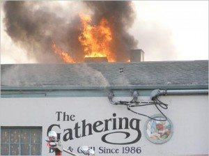 A fire closed The Gathering down for a year