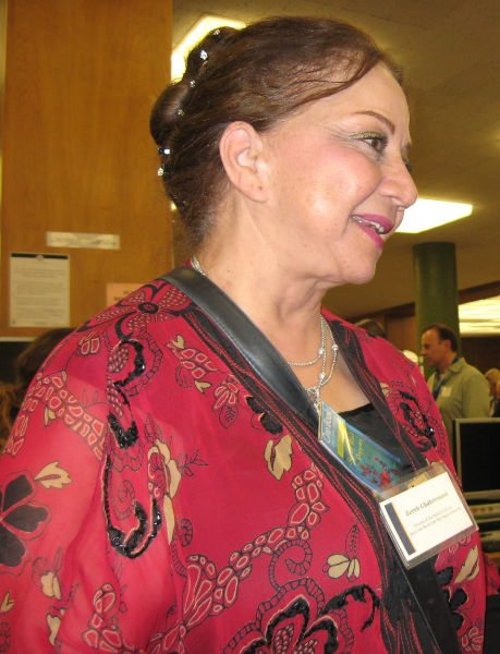 local authors Zohreh Ghahremani