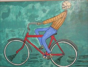 north park bikes art