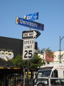 ray st and university