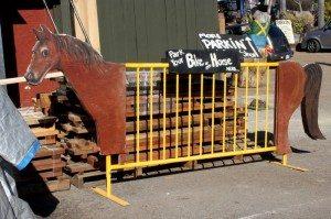 City Farmers Nursery horse rack