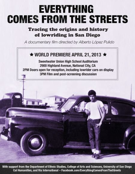 Everything Comes From the Streets Flyer 2013
