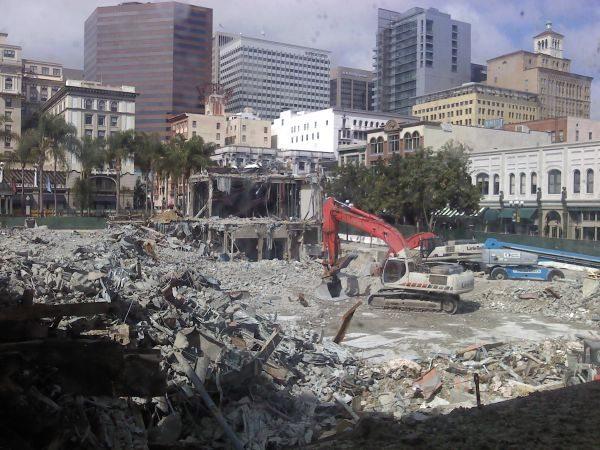 Horton Plaza Demolition