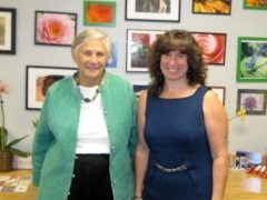 Education reformer Diane Ravitch with Cindy Marten