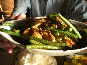 Chicken Kra Pao