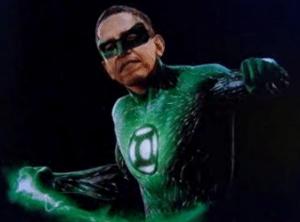 Green Lantern Obama