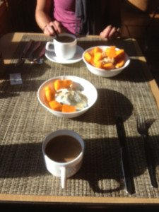 Final breakfast in Cuzco