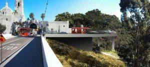 Balboa Park bypassbridge