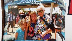 Judi and Kids at Sea World