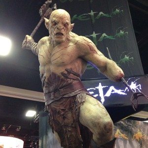 SDCC Giant Orc from #LOTR