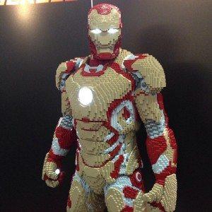 SDCC Lego Iron man