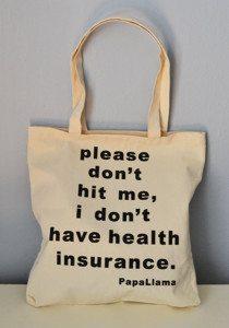 health insurance bag