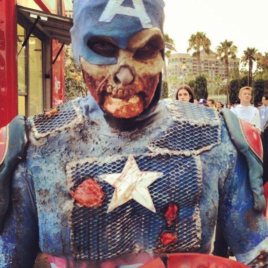 Zombie Capt. America
