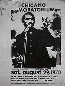 Chicano Moratorium poster
