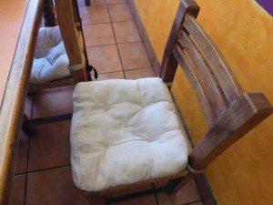 Low but comfy seats