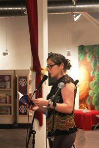 The Front's Gallery Director, Leticia Gomez Franco.