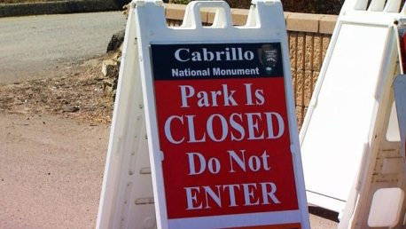 Cabrillo Closed-Shutdown