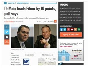 Demaio leads Filner