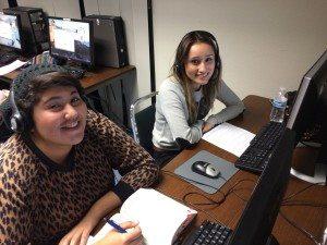 AFT Interns Laura and Miriam