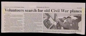 civil war planes