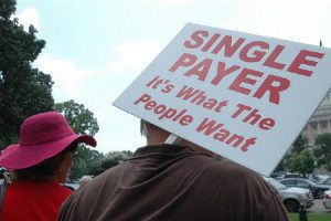 single payer sign