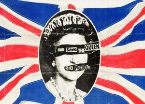 ZPromotional poster for the single God Save the Queen