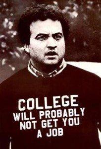 college no job