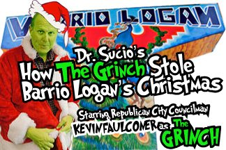 You're a Grinch, Councilman Faulconer!