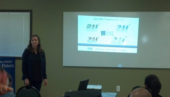 Representative from 2-1-1 San Diego explains the basics of the Affordable Care Act