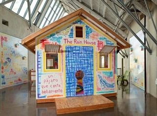 Rain House at the New Children's Museum