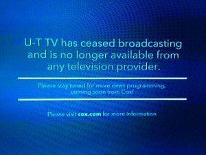UT TV Dies