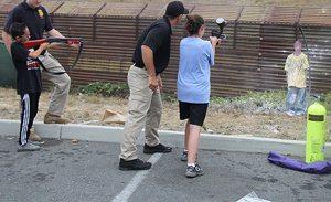 Border Patrol teaches kids how to dehumanize a potential illegal border crosser.