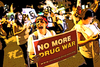 The war on drugs is a war on people.