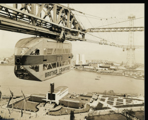 Gondola Skyride from 1938 Chicago Worlds Fair