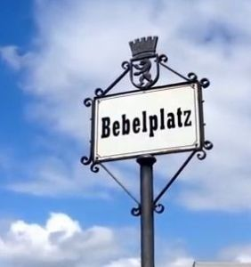 Geo-Poetic Spaces: Bebelplatz, Berlin