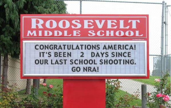 school shooting nra