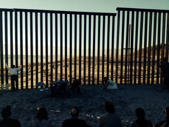 Antígona en la frontera, Friendship Park