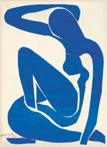 Blue Nude (I) - Matisse