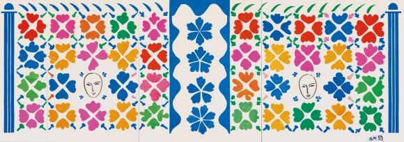 Large Decoration with Masks - Matisse