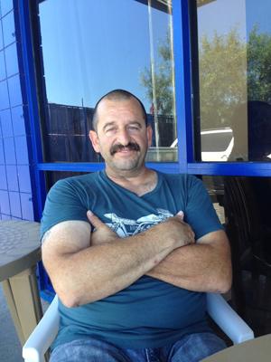Mark Lane, owner of Poppa's Fresh Fish.