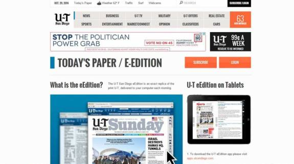 UT Front Page