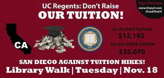Tuition Rally