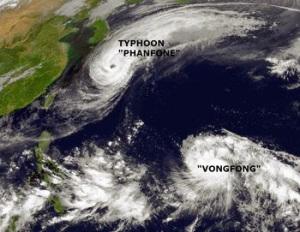 Typhoon Vongfong