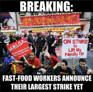 Dec 4 fast food strike