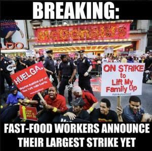 Dec 4 fast food strike