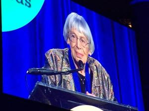 Ursula Le Guin at the National Book awards