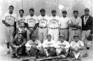 NH Baseball Team, Carmen Castillo bottom right