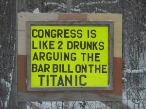 Congress drunk