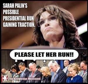 Praying for Palin